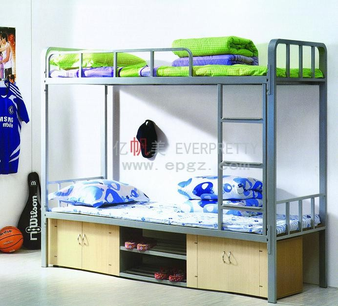 Cheap Adult Bunk Bed Double Bed for School Dormitory Furniture
