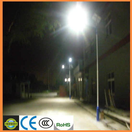 CE ROHS with best price 140lm per watt led chip Africa market solar led street light streetlights solar powered
