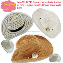Wholesale luffy straw hat farmers with flat brim for women or men