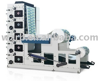 RY-850 4-6 colors automatic paper cup flexo printing machine from Ruibang