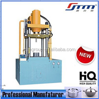 Four Column Deep Drawing Stainless Steel Utensils Manufacturing Machine