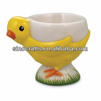 easter decoration ceramic chicken egg cup