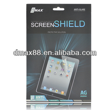 Screen protector for Toshiba thrive oem/odm (Anti-Glare)