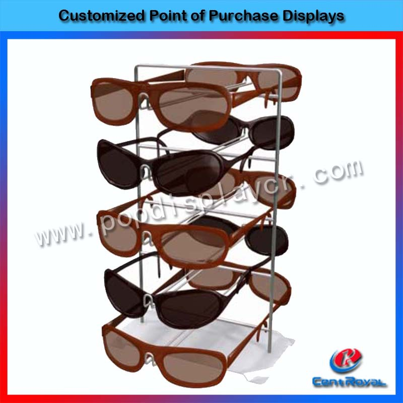 Hot new retail products high quality counter sunglass kiosk display