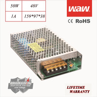 48V 1A 50W 110V/220V AC/DC Switching Power Supply CCTV power CE ROHS approved