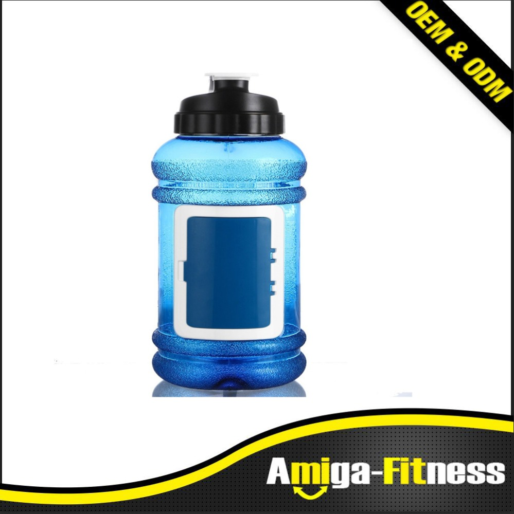 2.2L Large Capacity Water Bottles Outdoor Sports Gym Half Gallon Fitness Training Camping Running Workout Water Bottle Plastic