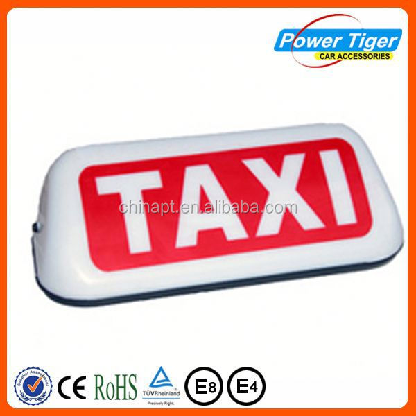 magnetic taxi light taxi top led light