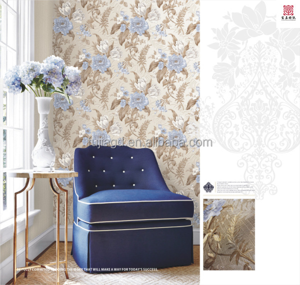 modern Luxury fashion pvc 3d wallpaper for modern designs