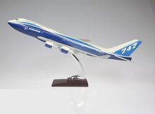 boeing 747 scale model plane/airline souvenir/business gift desktop