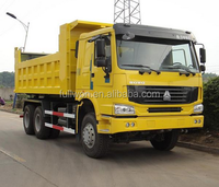 SINOTRUK 6x6 howo 300hp 25ton dump truck/ camion volquete