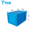 600*400*355 mm Whole Sales Durable Reusable Nestable PP Blue Foldable plastic box Packaging