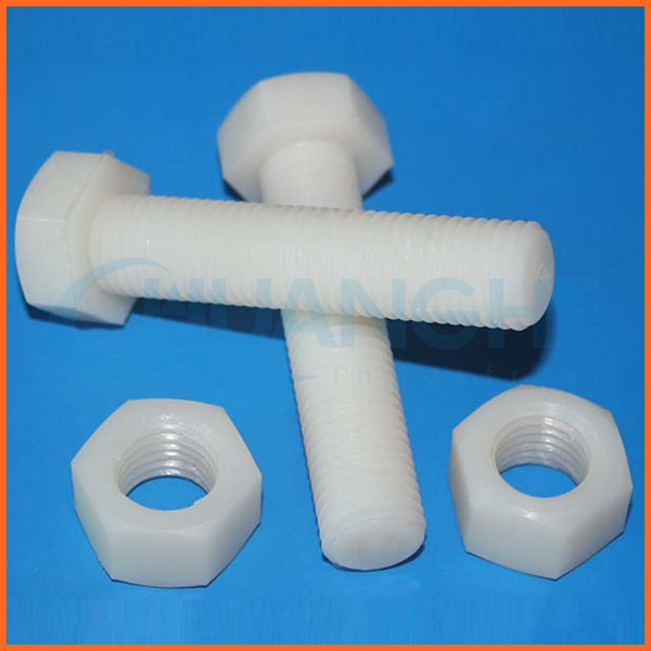china supplier hollow plastic bolt