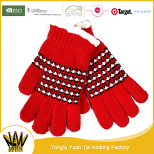 China Wholesale King Size Lovely Making Winter Glove