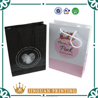ECO-friendly hot sale customize printing logo shopping pack wholesale paper bag