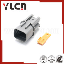 YLCN Factory PBT Best Price 4 Way male high temperature connector auto electric plastic connector plug DJ7043D-2.2-11