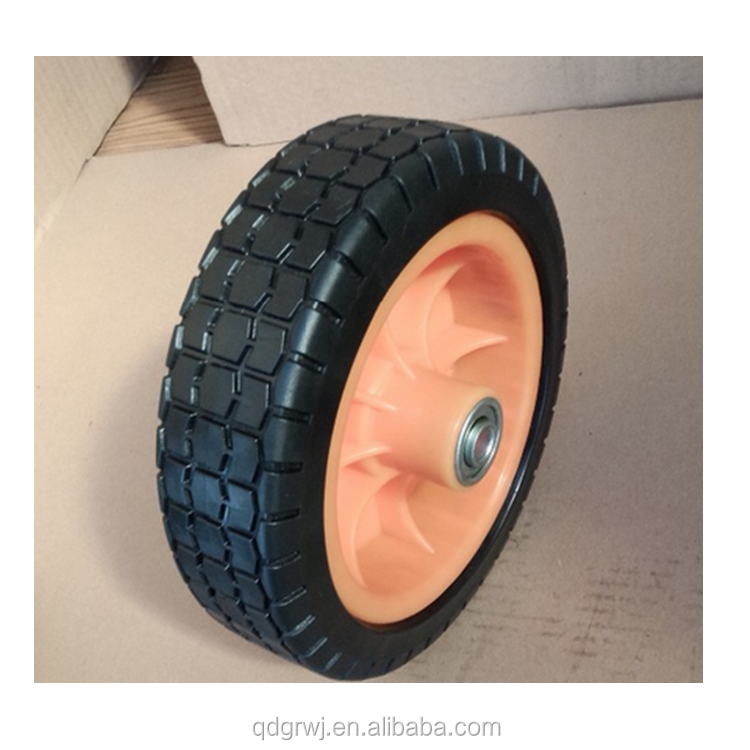small solid wheel for toys /lawn mower/ carts