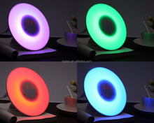 lighted table clocks glowing led color change digital alarm clock