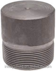 3000# Stainless steel ss 316 304 Forged Pipe Fitting threaded round head plug
