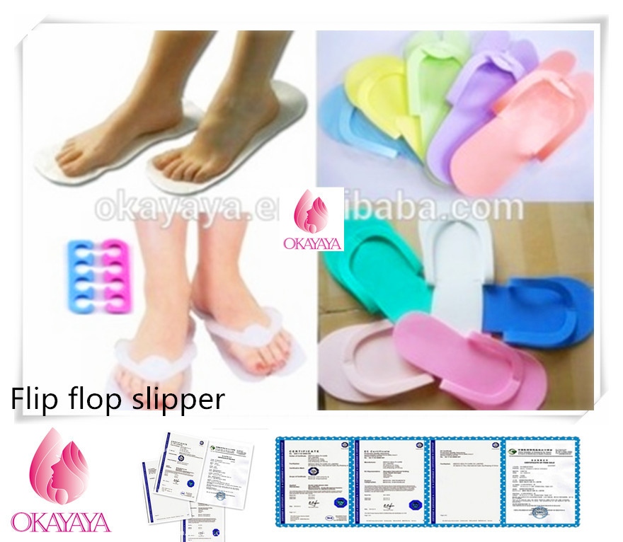 Top seller monouso sticky feet piede spray tanning