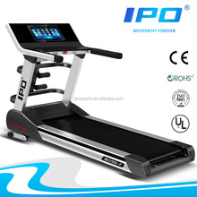 hot sale new innovation design folding electric body building 2.2hp ac motorized best commercial home treadmill BOSS7