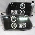 For Dodge Ram RAM PICK UP F1500 LED Headlight Angel Eyes 09-2012 Year JY