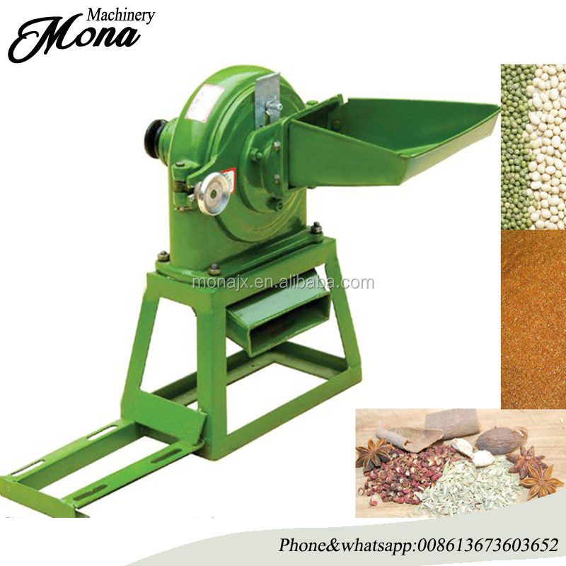 Good price high quality disk mill for corn soybean/spice/maize/cereal/ chilli/pepper/ paprika