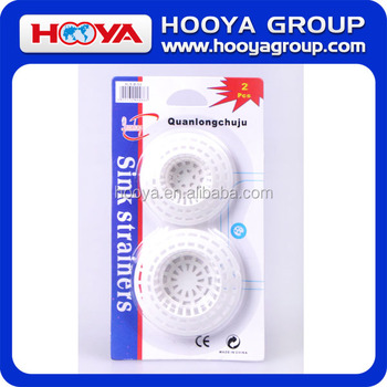 Promotion 2PCS 7*1.5/6*1.5CM SINK STRAINERS in Bathroom