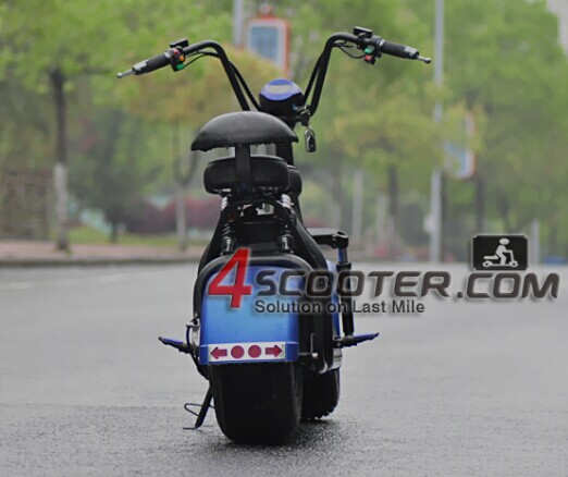 2017 newest citycoco, electric scooter city coco 1000W 1500W 2 big wheels scrooser citycoco bike with CE