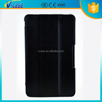 OEM Genuine leather PU leather flip tablet case for lg g pad 8.3