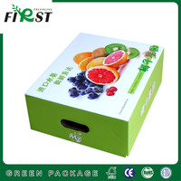 Corrugated Paper Fruit Grade Packaging Box/Recycle Customized paper Fruit Box For Display/FRESH FRUIT CORRUGATED PAPER/PACKAGING
