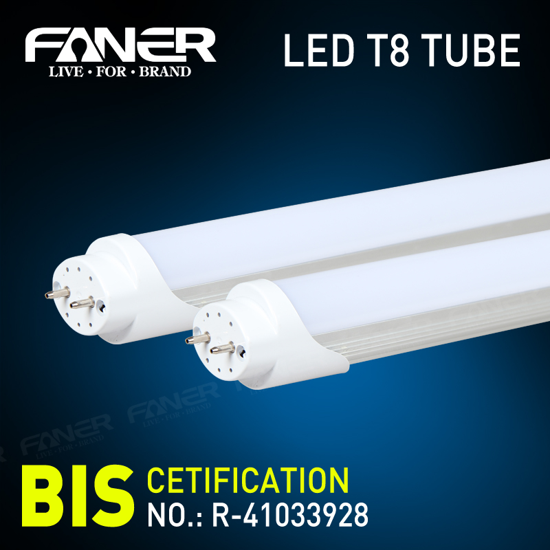 CE ROHS VDE UL DLC integrated led light tube 24360 degree sex japan red tube t8w t8