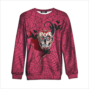 New arrival printing custom longsleeve sweatshirt with healthy fabric