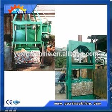 Manual Control Hydraulic Vertical Waste Paper Baler