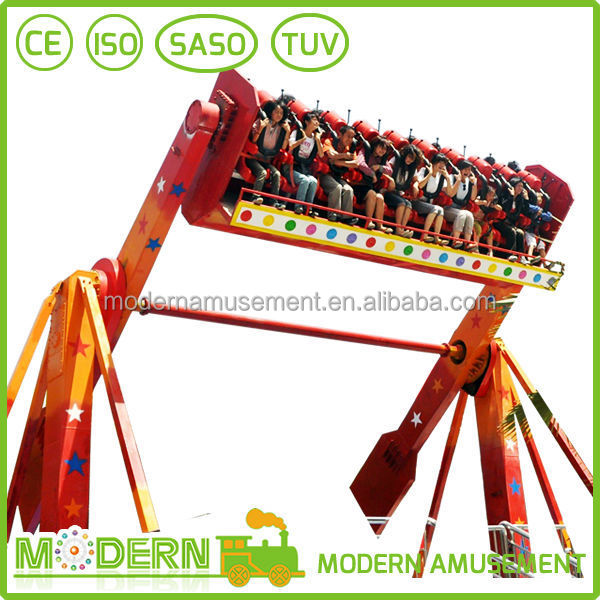 Outdoor amusement park top spin thrill rides for sale