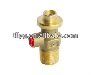 Brass valve for liquid gas Haiti 12.5kg refillable lpg cylinder