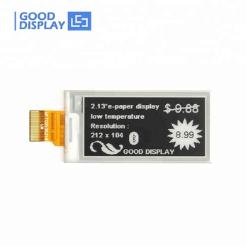 "E goodisplay eink screen display module  2"" inch low temperature"
