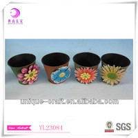 Small Metal Plant Pot With Customized