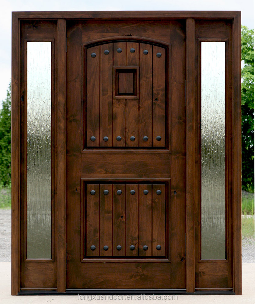 Teak wood door design solid wood door wood glass door for Teak wood doors designs