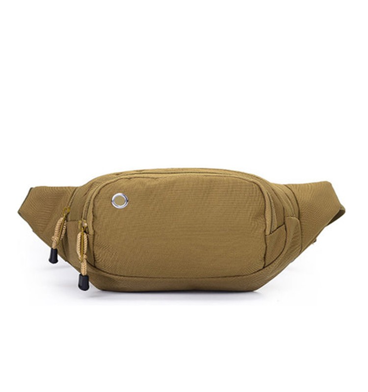 BA-1442 High Quality Wholesale Men Fashion Canvas Waist Bag,custom waist bag