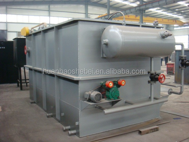 DAF System Dissolved Air Flotation Machine,Oily SS Waste Water Pretreatment Equipment