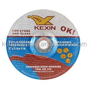 180*6*22.2mm carborundum abrasive grinding wheel for stone and glass