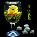 2017 hand made Lilies and jasmine flower blooms tea coffee dedicated