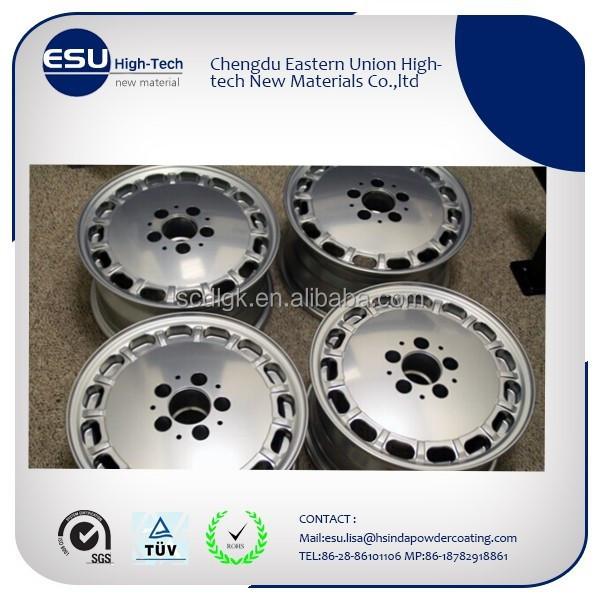 China supplier powder coating wheel chrome spray paint