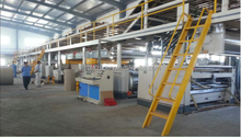 Karton making machine 3 5 7 ply corrugated board production line / corrugated cardboard packaging machine