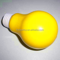 PU foam ball bulb shape stress ball