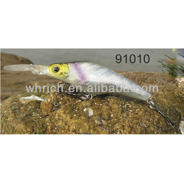 50~75mm 3.5~11g 3D eyes hard plastic vibrating fishing tackle lures
