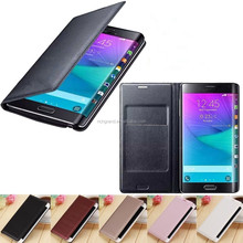 Wallet leather flip case cover for Samsung galaxy Note edge N9150