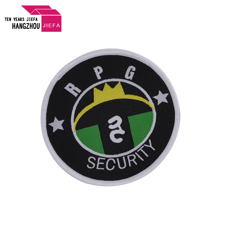 Custom Embroidered Woven Patch For Clothes