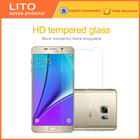 0.33mm tempered glass screen protector film for samsung note5