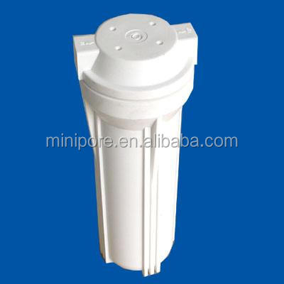 plastic 10 inch white filter housing for RO water filter